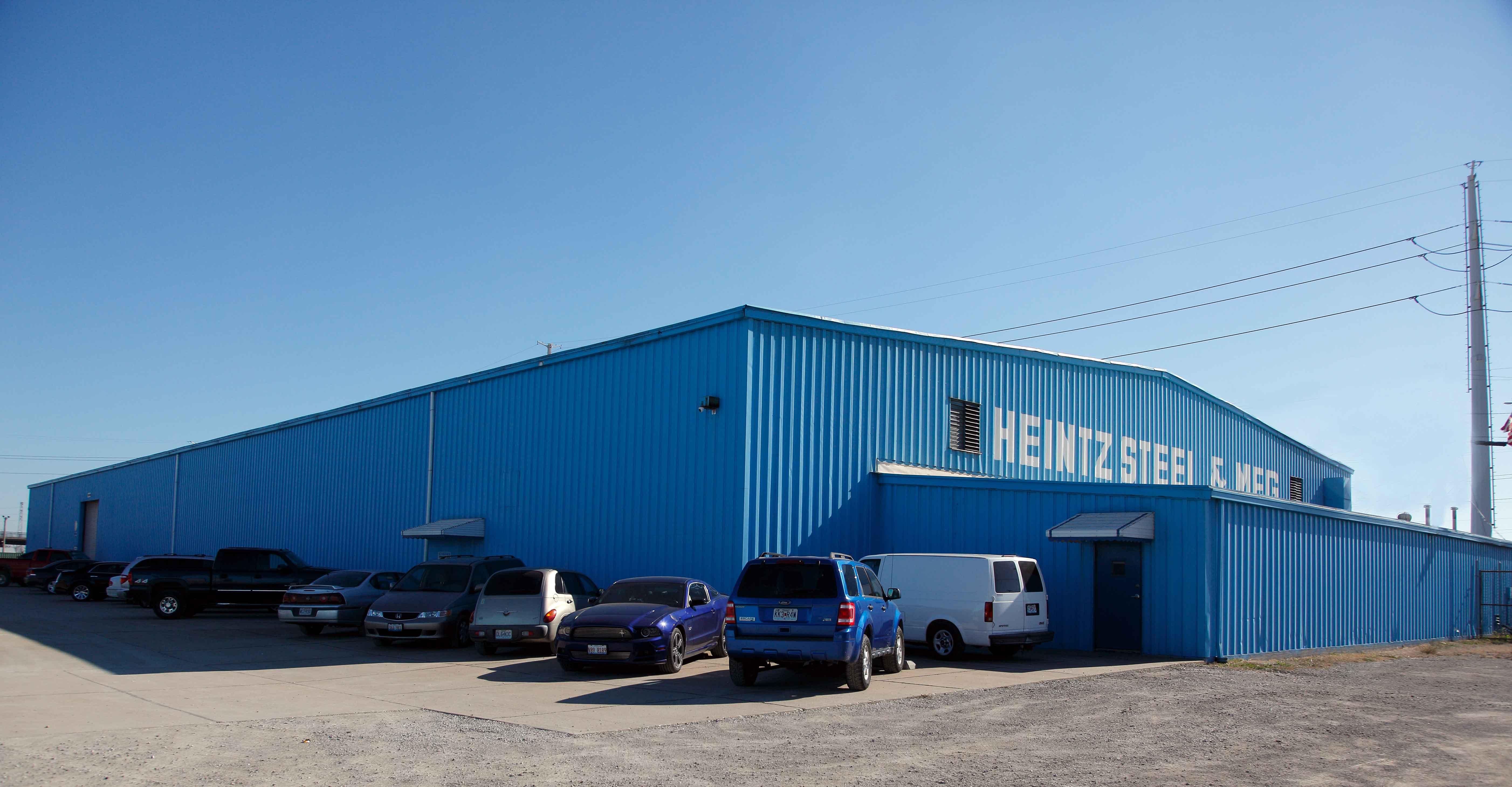 Steel Products Manufacturing : Heintz steel manufacturing company custom metal